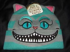 Disney Alice In Wonderland The Cheshire Cat Ears Face Character Beanie Hat Cap