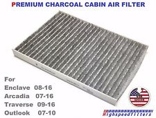PREMIUM Carbonized Cabin AIR Filter For Enclave Traverse Arcadia Outlook C26205