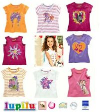Lupilu Bambina T-Shirt 3 Pezzo - Set Gr.86/92 98/104 110/116 Estate