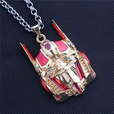 Movies Transformers Badge Pendant Optimus Prime Mask Vintage Men's Necklace Film
