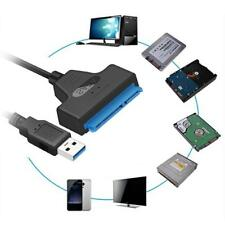 USB 3.0 Auf Sata-Kabel Konverter UASP Für 2.5 Zoll SSD-Festplatte Adapter Neu