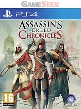 ASSASSINS CREED CHRONICLES - PLAYSTATION PS4 BRAND NEW FREE DELIVERY