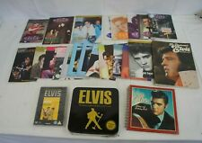 Elvis JOB LOT - Inc Elvis Today & Fanclub Magazines + DVD & Books