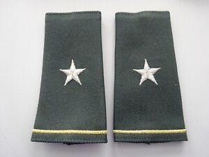 US Schulterklappen Überziehschlaufen Green Long Shoulder Marks Army General