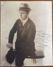 Signed Antique 1920 Photo Broadway Actor MARSHALL HALE Penny Arcade-James Cagney