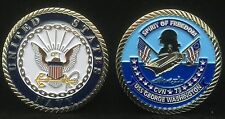 USS George Washington CVN 73 Enlisted Challenge Coin