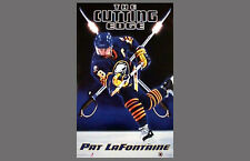 PAT LAFONTAINE Buffalo Sabres 1993 Costacos Brothers Vintage Original POSTER