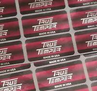 NEW 9 True Temper Golf Club Shaft Labels - Uniflex - Bands Stickers *AUTHENTIC*