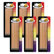 Thornton's Art Supply Colorless Blender Blending Pencils, Pack of 36