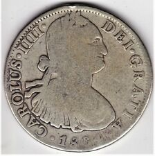 "1804 Spanish Colonial Mexico 8 Reales, ""AMERICA'S FIRST SILVER DOLLAR"" (1804)"