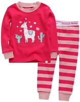 "Vaenait Baby Toddler Kids Clothes Long  Pajama Set /""Hunter Dino Blue/"" 12M-12Y"