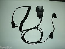 NEW Security Headset Earpiece KENWOOD Radio TK240 NX 220 NX 320 TK 370 & MORE !