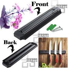 Strong Kitchen Magnetic Knife Holder Wall Mounted Utensil Organizer Strip Rack
