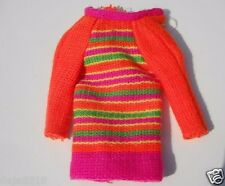 Barbie SKIPPER Doll Skimmy Stripes #1956 Dress Variation  HTF 1968 Mod Era