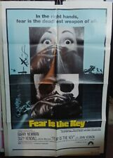 Fear is the Key - original one-sheet poster