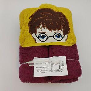 Harry Potter Hooded Towel, Custom-made NWT