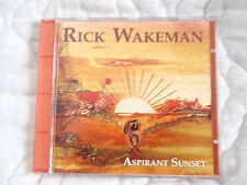 RICK WAKEMAN ASPIRANT SUNSET CD OOP ART PROG ROCK YES NEW AGE MUSIC INSTRUMENTAL