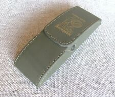 Men's glasses case with belt clip, PU leather glasses pouch, Eyeglass Case