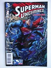 Superman Unchained #1   High Grade VF/NM   1st Wraith   New 52   Poster Intact