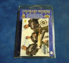 1993 UPPER DECK COLORADO ROCKIES INAUGURAL SEASON FACTORY TEAM SET *INV6326