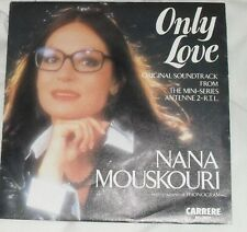 "NANA MOUSKOURI - ONLY LOVE / MISTRAL'S DAUGHTER - 7"" SINGLE"
