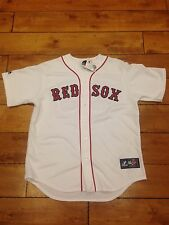 Alfredo Aceves AUTOGRAPH BOSTON RED SOX Jersey size L New