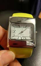 Lime green strapped Ladies eTim Watch Analogue Quartz Working, brand new battery