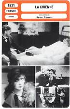 LA CHIENNE - Michel Simon,Jean Renoir (Fiche Cinéma) 1931