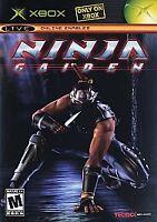 Ninja Gaiden (Microsoft Xbox, 2004) COMPLETE TECMO FAST SHIPPING NTSC