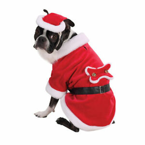 Zack & Zoey SANTA PAWS  Dog Christmas Holiday Costume XS S M L XL Santa Claus