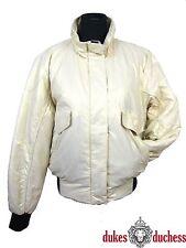 WELLENSTEYN Damen Jacke LUCILLE Winddicht silvergold silber/beige Gr.:XL/40-42