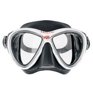 Hollis M-3 Scuba Diving Dive Free-Diving Mask White/Black 205.4700.10