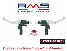 """0100 - Coppia Leve Freno """"Logan"""" in Alluminio per Bici 20-24-26-28 Trekking"""