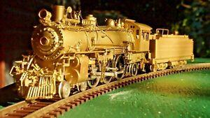 Antique Brass HO PACIFIC 4-6-2  Santa Fe '1226' by Samhongsa 'Mint in Box'