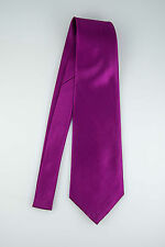 30 Colors Solid Plain Wide Neck Tie Suit 4 Inch Mens Wedding Necktie Polyester