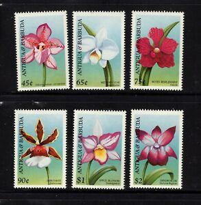 Antigua #2084-89 (1997 Orchids set)  VFMNH  CV $5.75