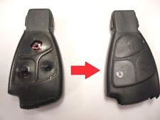 Repair service for Mercedes A B C E S CLK CL SL Class remote key fob + New case