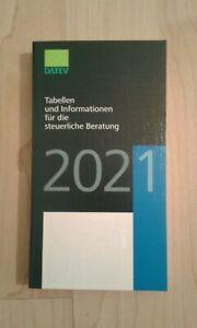 DATEV Tabellen und Informationen für die steuerliche Beratung 2021