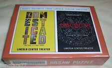LINCOLN CENTER NYC Sealed JIGSAW PUZZLE POSTER SHAKESPEARE MACBETH 285 Pcs