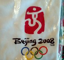 New Packaged BEIJING China 2008 Olympic T-Shirt Left Chest Logo Size 2XL