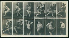 BMV 52 & 51 ? Stock Card French nude woman original c1910s photo postcard
