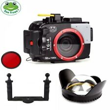 Seafrogs 60m Underwater Camera Housing Case for Olympus TG 3 TG 4 Dome Port Tray