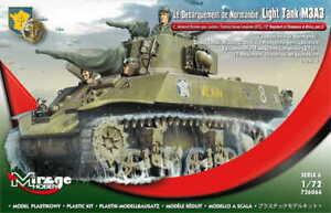 MIRAGE 726066 1:72 Light Tank M3A3 - 2nd Armored Div. gen. Leclerc