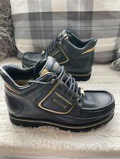 VINTAGE Rockport MWEKA Black/Gold XCS Boots Size 6 UK Made In PORTUGAL RARE.