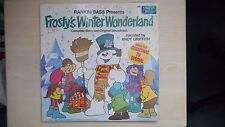 Disneyland Records FROSTY'S WINTER WONDERLAND Story & Soundtrack LP 1976