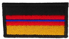Thin Blue Line Police Germany Deutschland German Flag Hook & Loop Back Patch SM