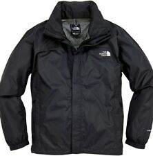 Hombre The North Face Resolve Impermeable Chaqueta Negro Pequeño BNWT