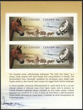 Canadian HORSES = Descriptive Booklet page of 4 = Canada 2009 #2330a MNH VF