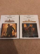 National Treasure 1 & 2 Blu Ray Steelbooks Nicholas Cage Disney Rare Import