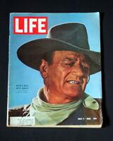 LIFE MAGAZINE MAY 7 1965 JOHN WAYNE